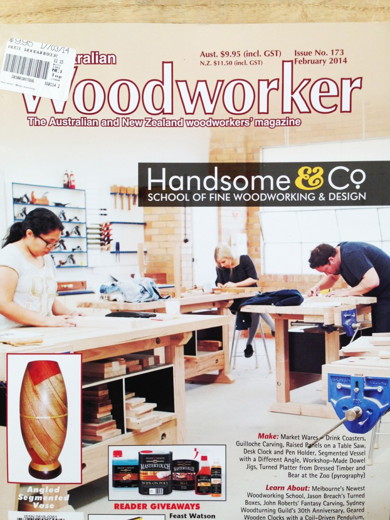 Australian Woodworker Feature