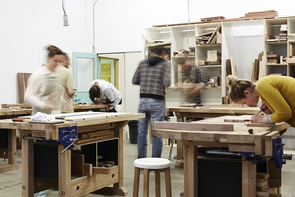 Handsome & Co - School of Woodworking & Design - An Inside Look
