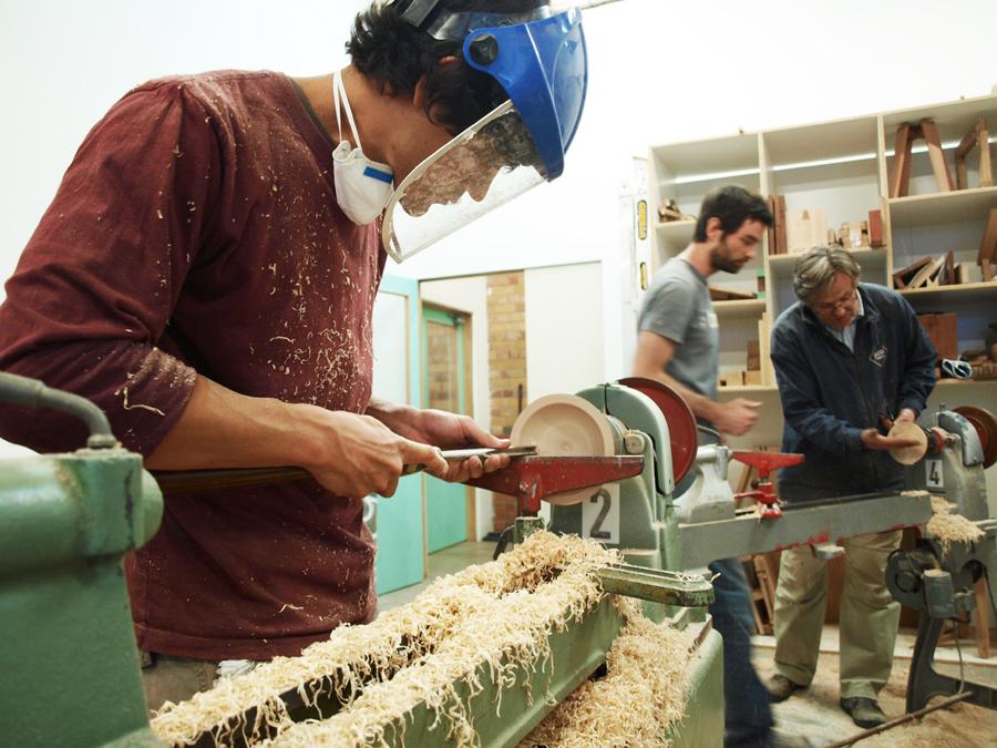 Wood Turning - The Basics... Photo's