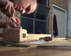 The Handsome & Co Educational Taster: LETTER CARVING