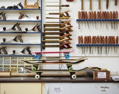 Bespoke Skateboard Deck Workshop
