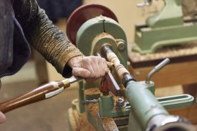 October Woodturning – The next step