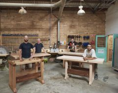 Build your First Woodwork Workbench in Melbourne.
