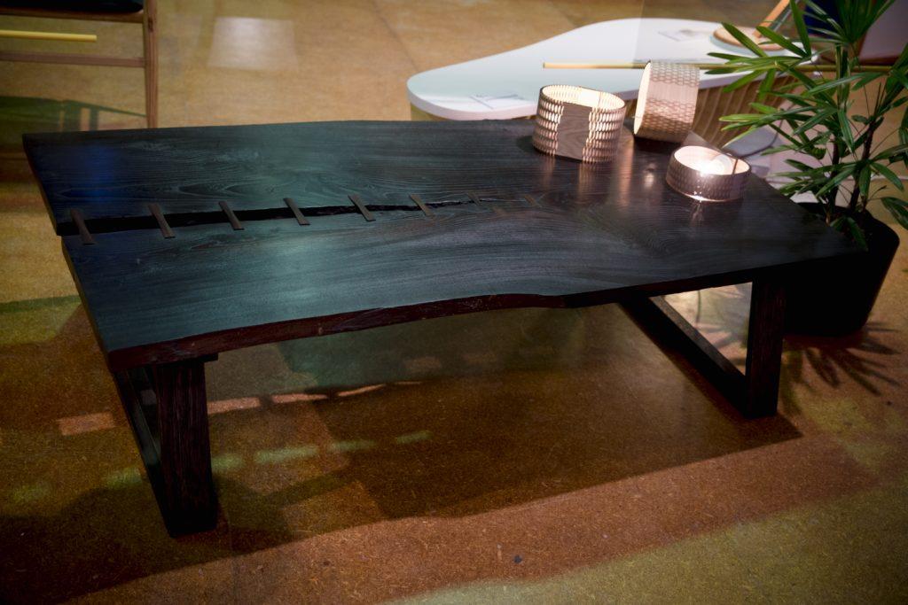 Fringe Furniture 31- Linus Table, Hugh Makin. Photo by Theresa Harrison copy